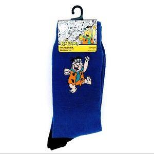 🆕 The Flintstones Fred Flintstone Crew Socks